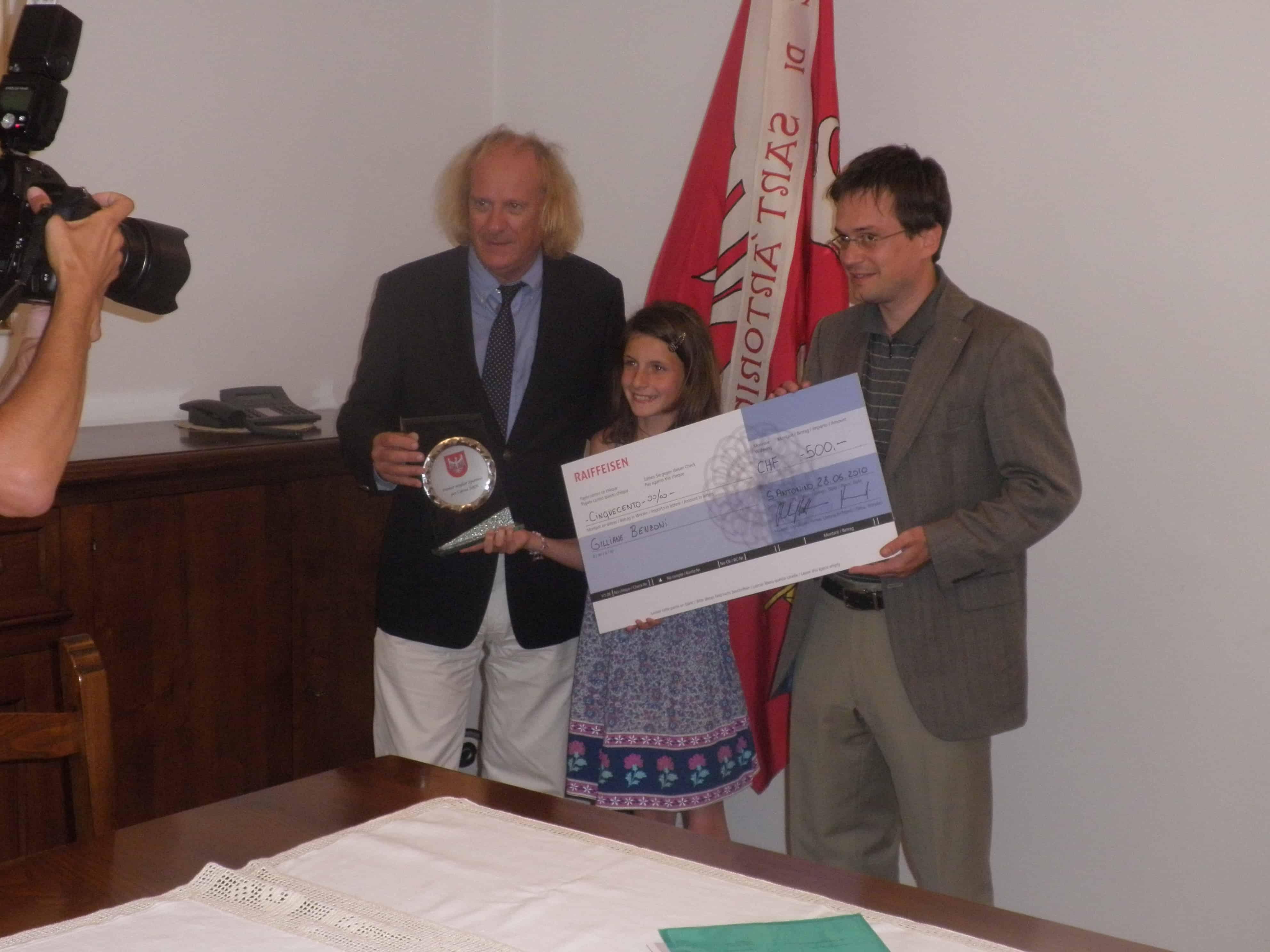 Anno 2009: Gilianne Benzoni